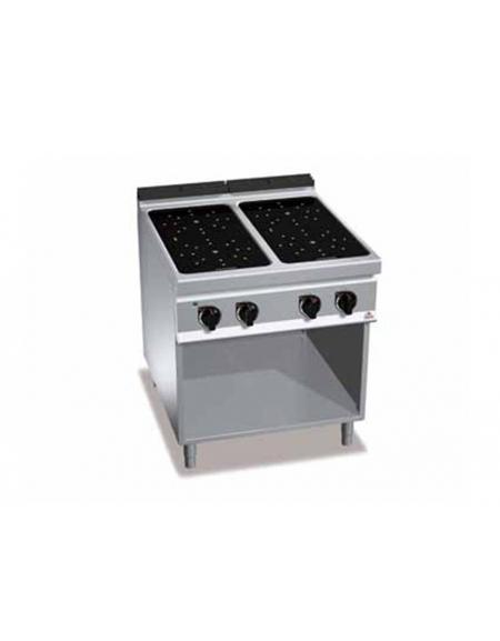 Cucina ad infrarosso 4 zone su vano cm 80x90x90h - Cucine in vetroceramica ...