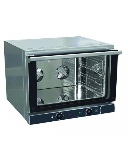 Forno elettrico 4 teglie gn 1 1 ventilato professionale alimentazione elettrica forni a - Cucine con forno elettrico ventilato ...