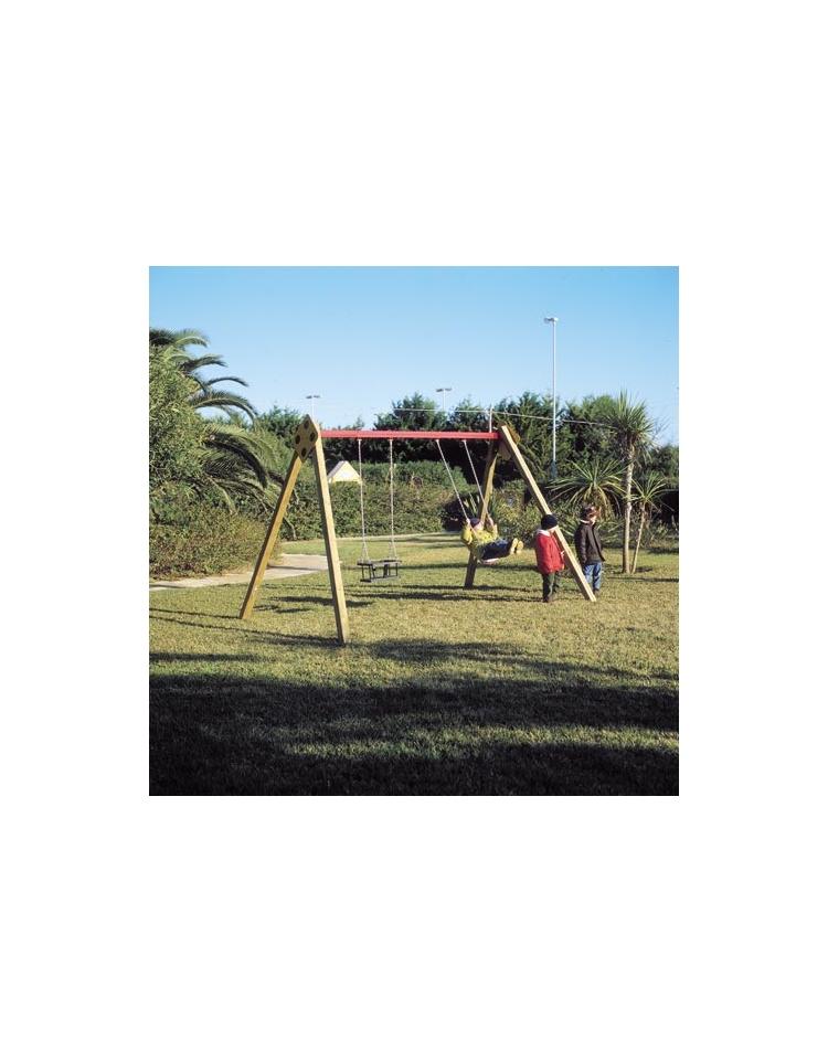 Altalena florida 2 posti sedili piani altalene per for 2 piani per 2 box per auto