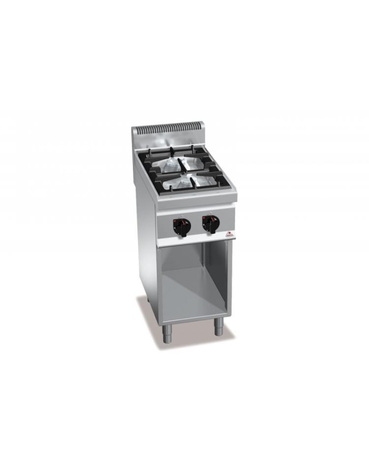 Cucina professionale industriale a gas 6 fuochi bassa potenza   cm ...