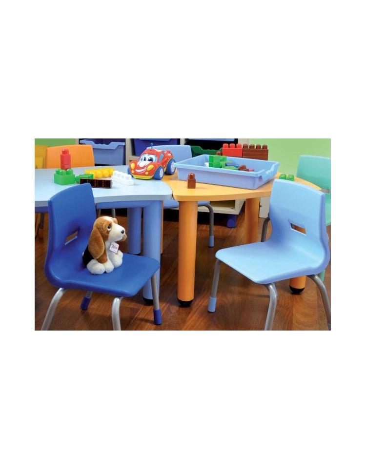 Tavolo sagomato rettangolare 6 posti cm 130 x 65 x 46 - Misure tavolo rettangolare 6 posti ...