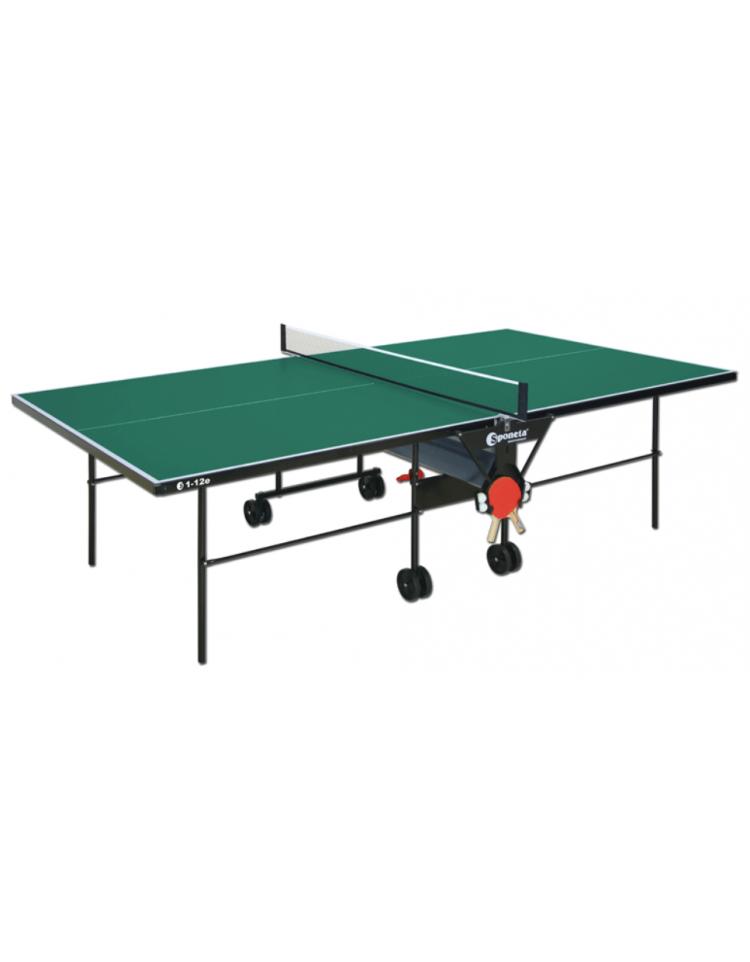 Tavolo tennis per esterno pieghevole e mobile su ruote fornito in scatola di montaggio con - Tavolo pieghevole con maniglia ...
