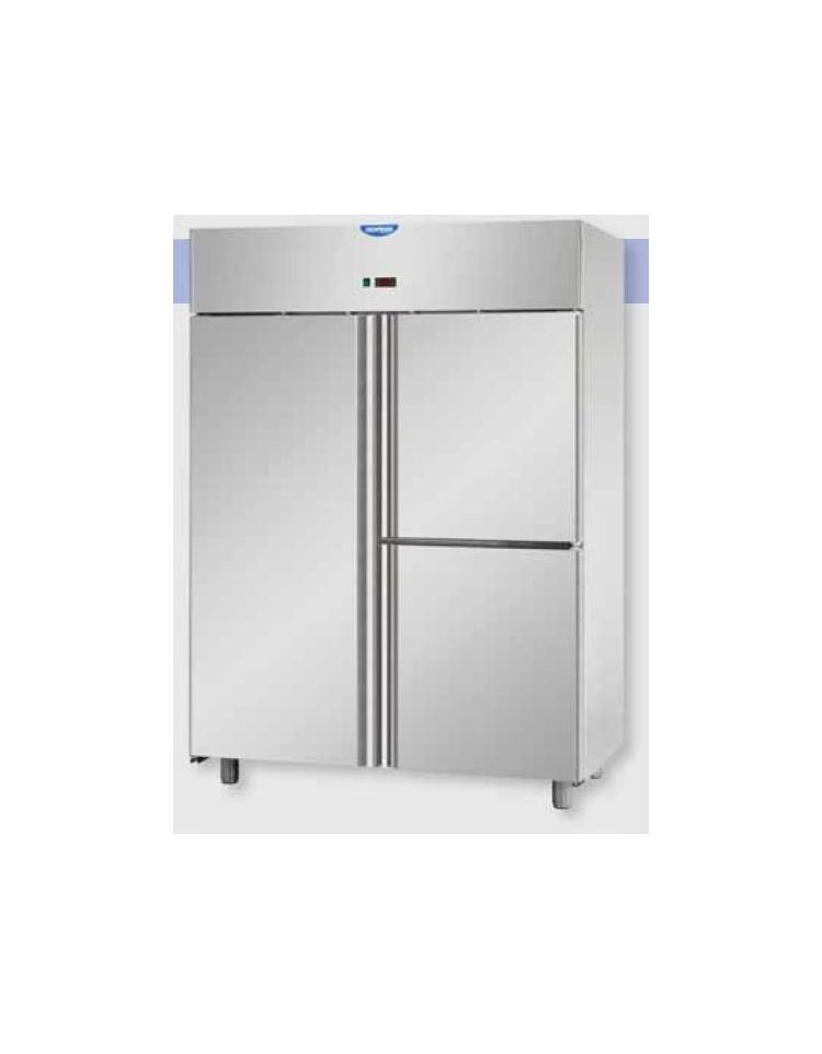 Armadio refrigerato lt gn 2 1 monoblocco in acciaio for Porte normale