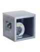 Ventilatore centrifugo cassonato a doppia aspirazione con motore direttamente accoppiato-Portata 10.000 metri cubi orari-Trifase