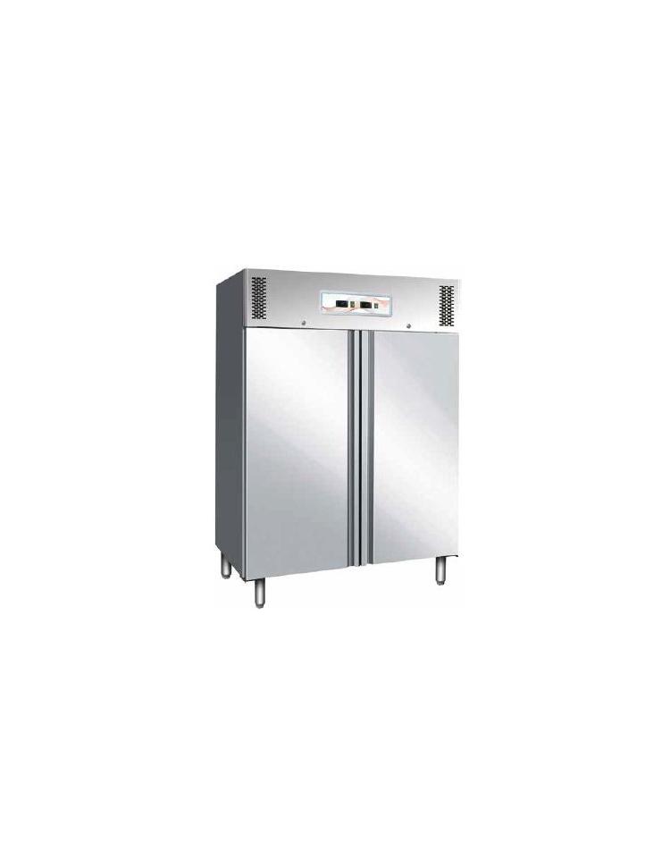 frigo inox ventilato lt 600 600doppia temperatura 2 8 c. Black Bedroom Furniture Sets. Home Design Ideas