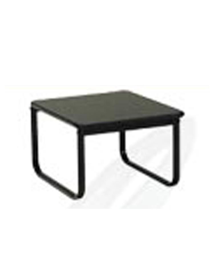 Tavolini Neri : Tavolino attesa con piano e struttura neri tavolini