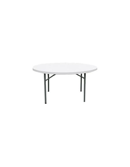 Tavolo catering rotondo pieghevole polietilene diametro cm - Tavolo rotondo vetro diametro 120 ...