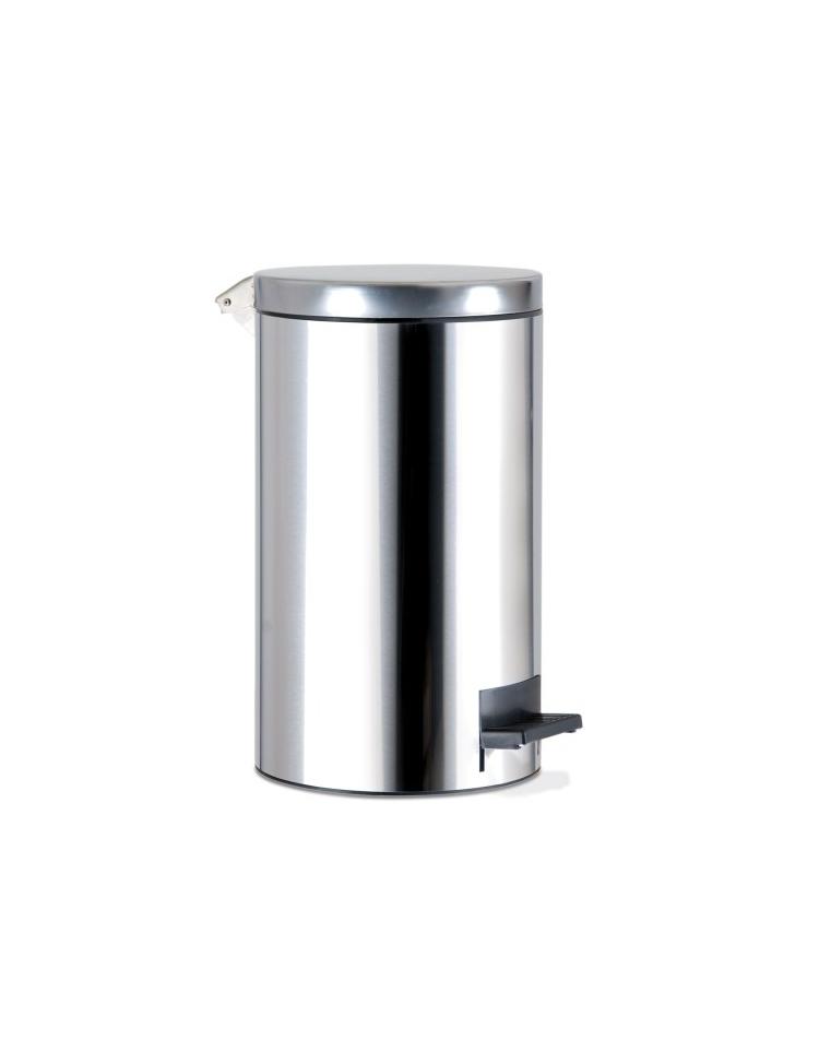 Secchio portarifiuti in acciaio inox 14l complementi d for Arredamento acciaio inox