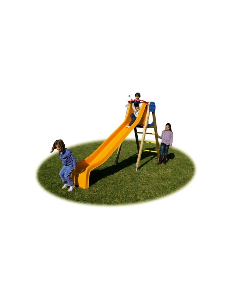 Scivolo con torretta scivoli per bambini da giardino da for Scivolo per bambini ikea