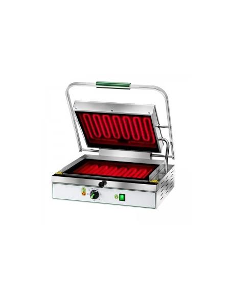 Piastra media in vetroceramica per panini liscia attrezzature di cottura professionali - Piastre per cucinare elettriche ...