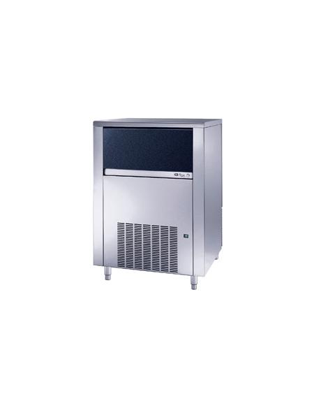 Fabbricatore produttore di ghiaccio a cubetti pieni 155Kg/24h