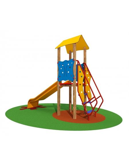 Gioco torretta per bambini Melissa (H. pedana cm. 80)