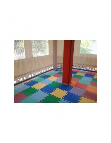 Pavimentazione antitrauma in EVA - Spessore mm 8