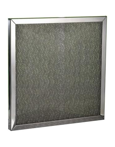 Filtro a rete per cappe Acciaio Inox cm. 50x25x1,25h