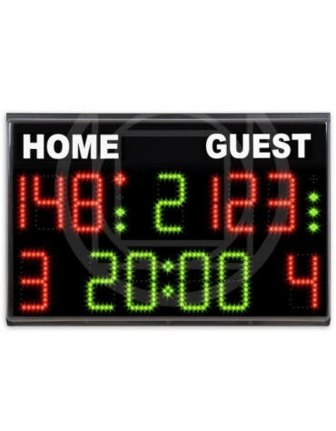 Tabellone elettronico basket-volley-calcio a 5