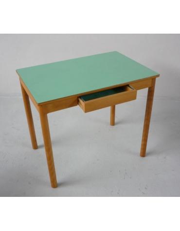 TAVOLO DA PRANZO CON CASSETTO CM 90X60X76H - CON PIANO IN LAMINATO PLASTICO STRATIFICATO