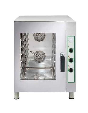 Forno ventilato elettrico per pasticceria - panetteria N° 6 Teglie 60x40