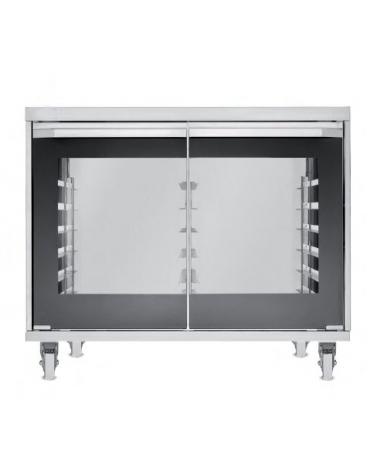 Supporto lievitatore per forno da cm. 97x90,5x72h