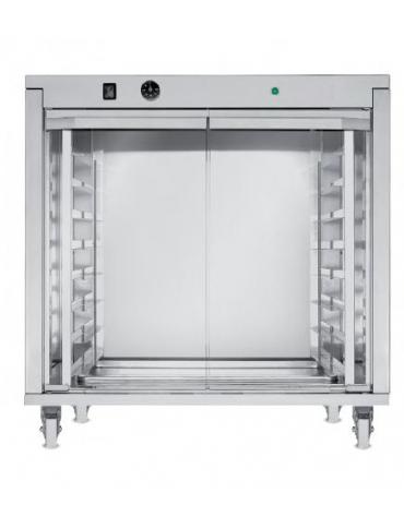 Supporto lievitatore per forno da cm. 68x50x85h