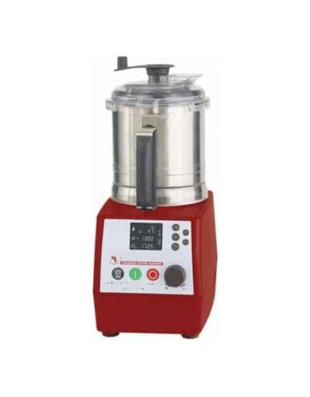Robot Da Cucina Cutter Professionale Multifunzione Con Sistema Di Cottura E Motore Ad Induzione Con Vasca Da Lt 3 7 Dinaforniture It
