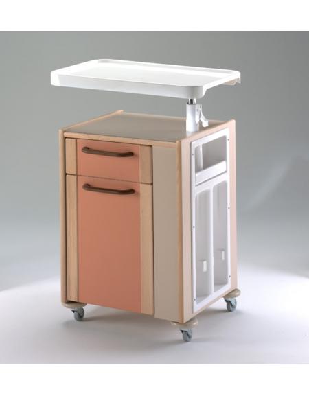 Comodino cassetto anta portabottiglie e tavolo for Arredamento sanitario