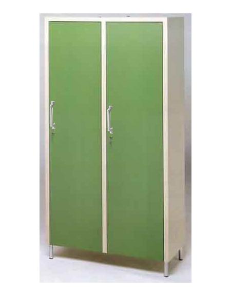 armadio a due posti per camera di degenza arredamento