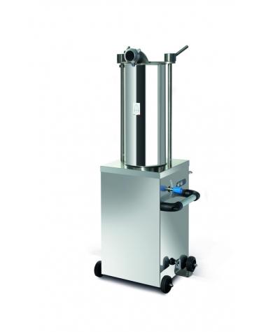 Insaccatrice verticale idraulica per salumi Lt. 15
