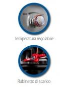 Friggitrice a gas, 1 vasca da 13 lt. su armadio chiuso cm 40x90x85h