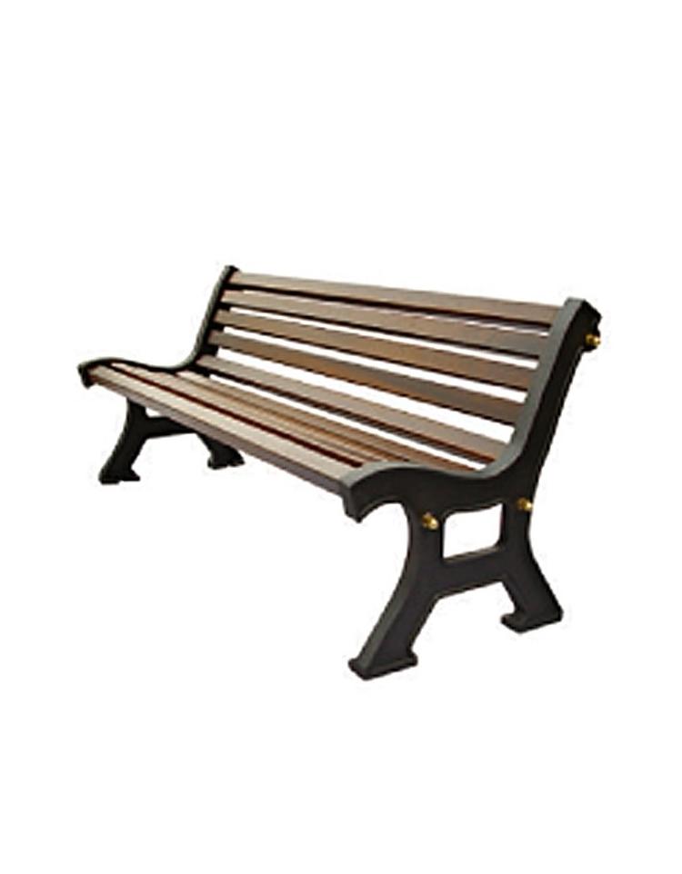 Panchina italia in ghisa doghe in legno di pino russo for Panchine arredo urbano prezzi