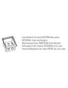 Friggitrice 2 vasche Lt 8+8 DIMENSIONI CM.40x70x85h