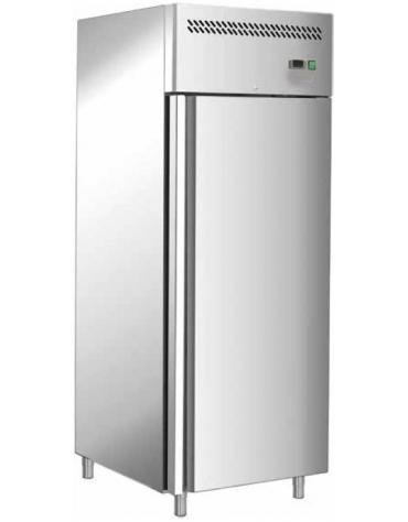 Armadio congelatore per pasticceria inox AISI 304 ventilato  - 1 porta - capacità 737 Lt. - temp. -18° -22°C - mm 740x990x2010h