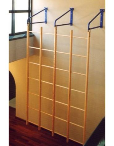 Quadro svedese in legno a 24 fori oscillante. Dim. cm 230 x 350