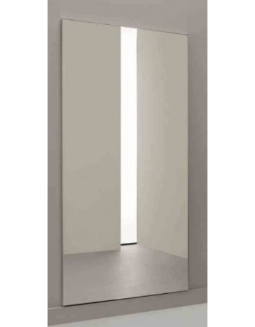 Specchio antinfortunistico modulare, liscio, dimensione cm. 100x200h.