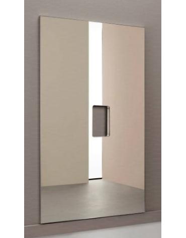 Specchio antinfortunistico modulare, liscio, dimensione cm. 100x170 h. con foro