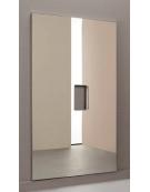 Specchio antinfortunistico modulare, liscio, dimensione cm. 100 x 200 h.con foro.