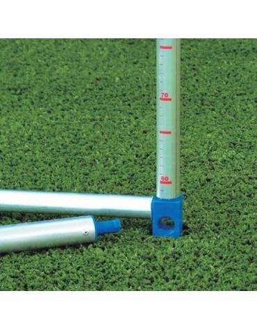Ostacolo alluminio, altezza regolabile da 60 a 100 cm., smontabile.