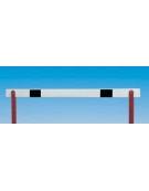 Assicella  in abs per ostacoli, misure cm. 120 x 7.