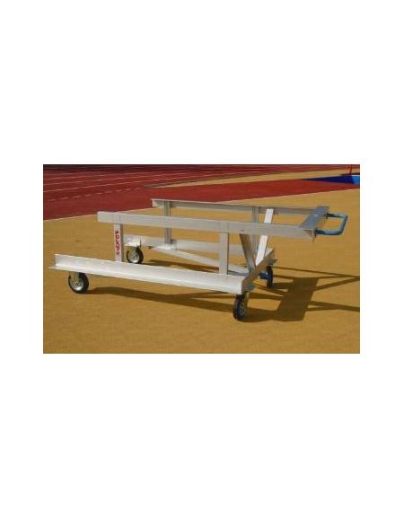 Carrello per trasporto ostacoli  Lungh. cm. 220  largh. cm.125.
