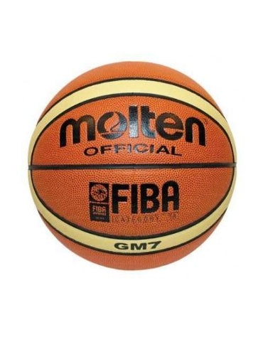 Pallone basket Molten bgm7 in pelle sintetica appr.Fiba