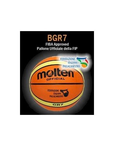 Pallone Basket in Nylon misura 7 Approvato  FIBA.