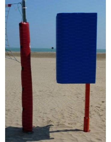 Palchetto arbitro beach-volley monopalo.