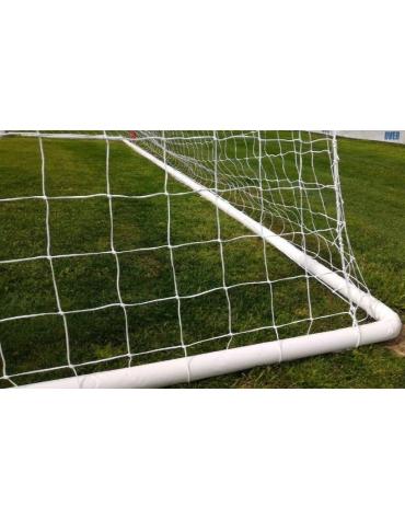 Protezione per la ribaltina di n° 1 porta calcio regolamentare, in gomma con fodera chiusura a velcro.