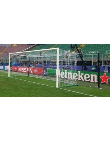 Protezione per n° 1 palo reggirete distanziato per porte calcio art. DN41159