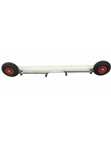 Kit 4 ruote sistema trasp. porta calcio trasportabile norme UNI.