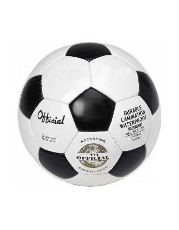Pallone calcio N°5 in cuoio cucito