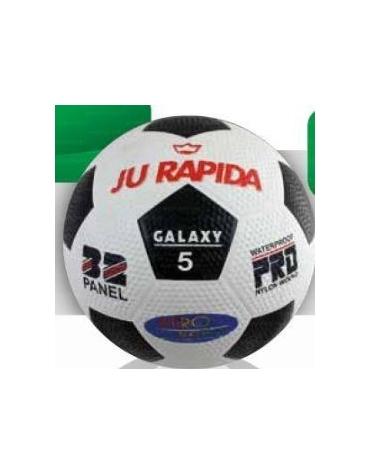Pallone calcio in gomma bugnata.