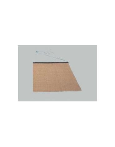 Stuoia in cocco per livellamento campo da trascinare cm 200x120 con guida in ferro