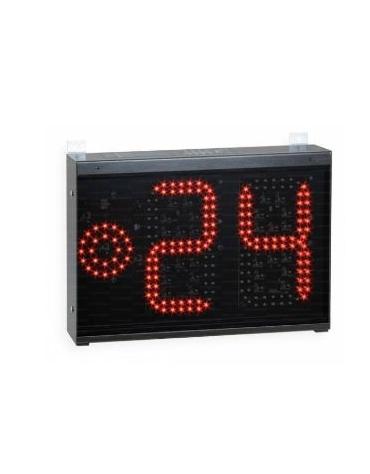 Tabellone elettronico  visualizzatore dei 24 secondi altezza cifre cm 20.