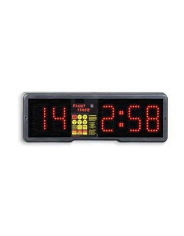 Timer programmabile a parete per boxe, spinnig, aerobica, kickboxing.