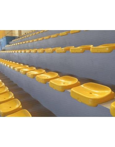 Seduta per tribuna senza schienale